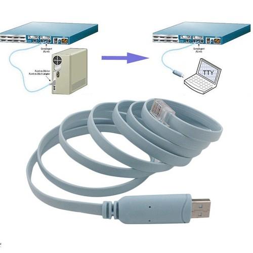 Cáp lập trình Console USB sang RJ45 .