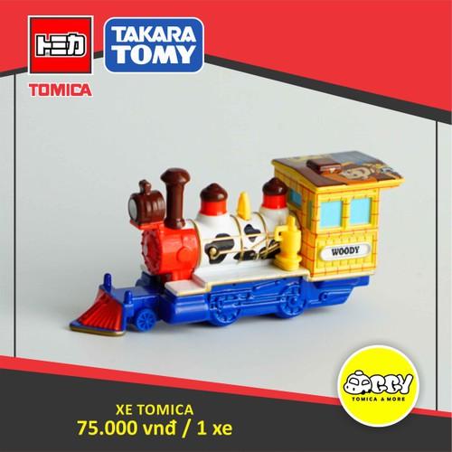 Xe mô hình Disney Tomica Toy Story - Tàu lửa Woody