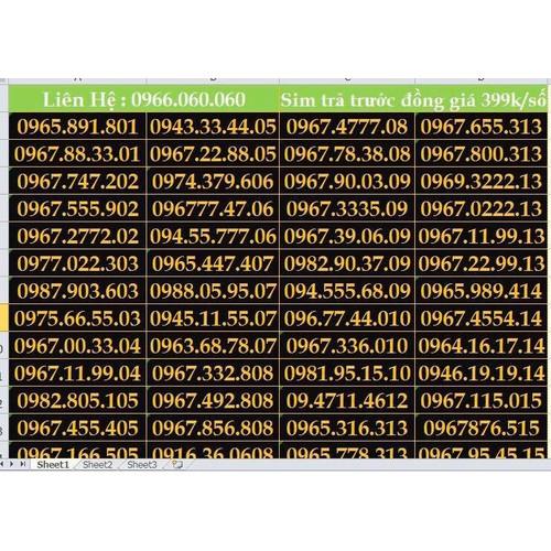 Sim số đẹp dễ nhớ viettel gói V90 giá thanh lý - 7963499 , 17629950 , 15_17629950 , 399000 , Sim-so-dep-de-nho-viettel-goi-V90-gia-thanh-ly-15_17629950 , sendo.vn , Sim số đẹp dễ nhớ viettel gói V90 giá thanh lý