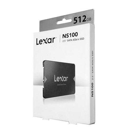 Ổ cứng SSD 2.5 inch SATA Lexar NS100 512GB - bảo hành 3 năm