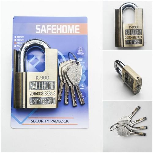 Ổ Khóa Cửa Chống Cắt SAFEHOME Cao Cấp SH-K-900