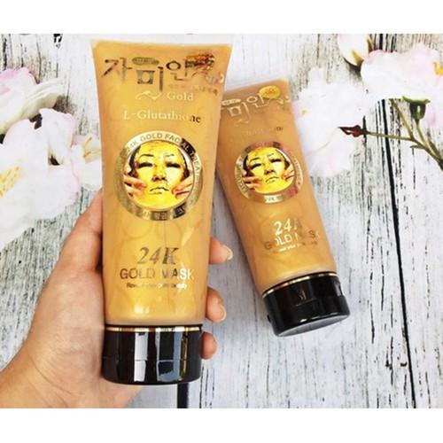 Mặt nạ vàng 24k tuýp Gold mask 220g - Mặt nạ gel lột tinh chất vàng trắng da - 4903900 , 17631288 , 15_17631288 , 138000 , Mat-na-vang-24k-tuyp-Gold-mask-220g-Mat-na-gel-lot-tinh-chat-vang-trang-da-15_17631288 , sendo.vn , Mặt nạ vàng 24k tuýp Gold mask 220g - Mặt nạ gel lột tinh chất vàng trắng da