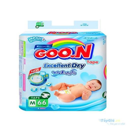 Bỉm Goon Slim dán M66