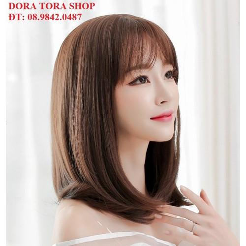 tóc giả nữ tóc giả nữ tóc giả nữ - tăng kèm lưới trùm tóc - 4903213 , 17624370 , 15_17624370 , 199000 , toc-gia-nu-toc-gia-nu-toc-gia-nu-tang-kem-luoi-trum-toc-15_17624370 , sendo.vn , tóc giả nữ tóc giả nữ tóc giả nữ - tăng kèm lưới trùm tóc