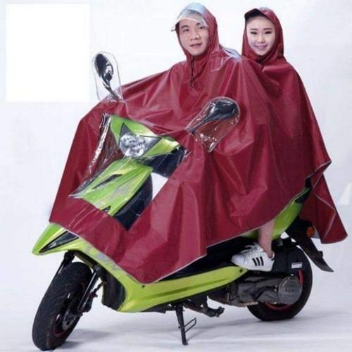 Áo mưa phản quang 2 đầu có kính che mặt