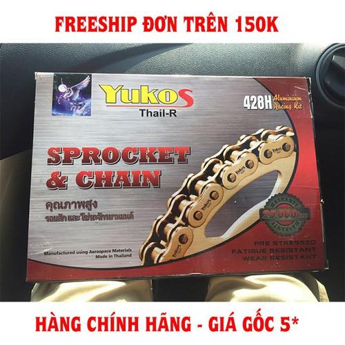 TẶNG TUÝP NHỚT 40K - Nhông Sên Dĩa Xe Exciter 135 Yukos Thai-R Chính Hãng - 7686598 , 17626253 , 15_17626253 , 420000 , TANG-TUYP-NHOT-40K-Nhong-Sen-Dia-Xe-Exciter-135-Yukos-Thai-R-Chinh-Hang-15_17626253 , sendo.vn , TẶNG TUÝP NHỚT 40K - Nhông Sên Dĩa Xe Exciter 135 Yukos Thai-R Chính Hãng