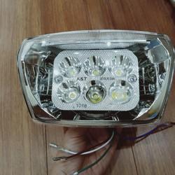 Đèn pha LED 6 bóng gắn cho xe Honda-dream siêu sáng - A368