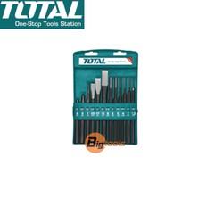 Bộ đục dẹp và tròn 12 chi tiết Total THT42K1201