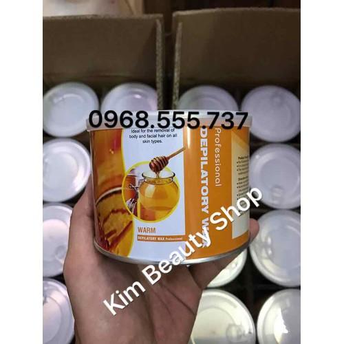 Gel wax nóng Ong Depilatory Wax 400ml Không xài giấy
