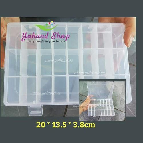 Hộp nhựa chia 24 ngăn