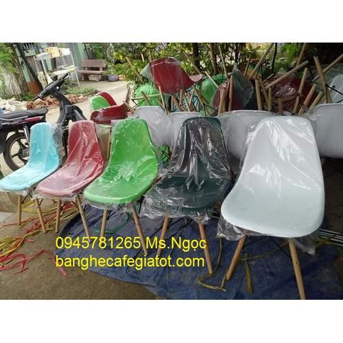 ghế cafe nhựa nhập giá rẻ