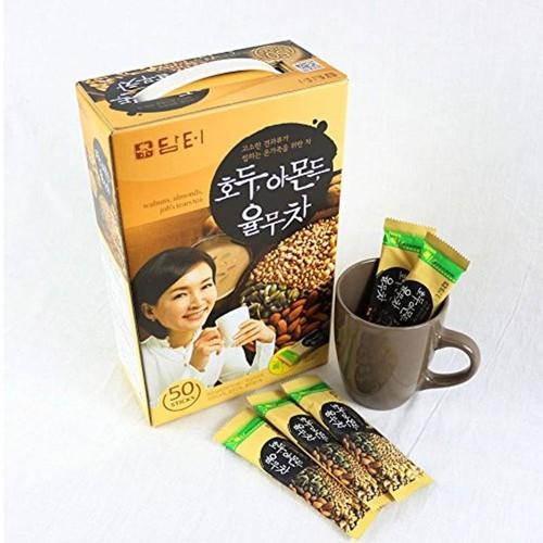 Bột ngũ cốc Damtuh Hàn Quốc - Hộp 50 gói - CAM KẾT CHÍNH HÃNG