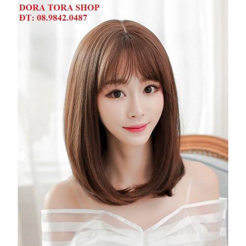 tóc giả nữ tóc giả nữ  TÓC GIẢ NỮ - tăng kèm lưới trùm tóc - 7686413 , 17624142 , 15_17624142 , 199000 , toc-gia-nu-toc-gia-nu-TOC-GIA-NU-tang-kem-luoi-trum-toc-15_17624142 , sendo.vn , tóc giả nữ tóc giả nữ  TÓC GIẢ NỮ - tăng kèm lưới trùm tóc