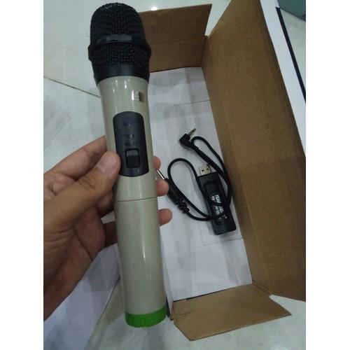 Loa Karaoke Bluetooth với thiết kế nhỏ gọn âm thanh hay + 1 Mic không dây