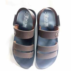 Giày Sandal quai dù, giày xăng dan có quai hậu, giày sandal nam, giày sandal nữ học sinh sinh viên mang đều phù hợp và độc đáo vận động du lịch thoải mái kiểu dáng phối màu neon thời trang cao cấp Latumi TA2531 (Đen phối Xanh Lá)