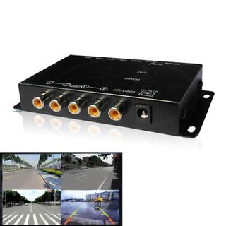 Bộ chia 4 màn hình camera cho Ô tô - HL 4128 thumbnail