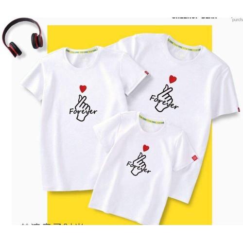 áo gia đình áo nhóm Forever-1 áo