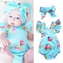 Bodysuit bé gái 1-2 tuổi