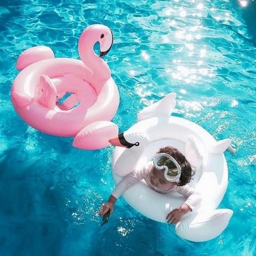 Phao bơi thiên nga cho bé [ 80Cm x 43 Cm ]