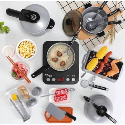 Bộ Đồ Chơi Nhà Bếp Nấu Ăn 36 món cho bé khám phá