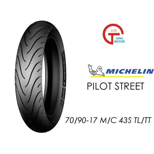 Cặp vỏ xe Michelin size 70.90-17 TL 43S và 80.90-17 TL 50S PILOT STREET Việt Nam, giá rẻ, uy tín
