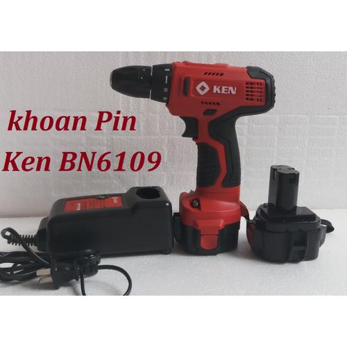 bộ máy khoan bắt vít pin KEN - BN6109