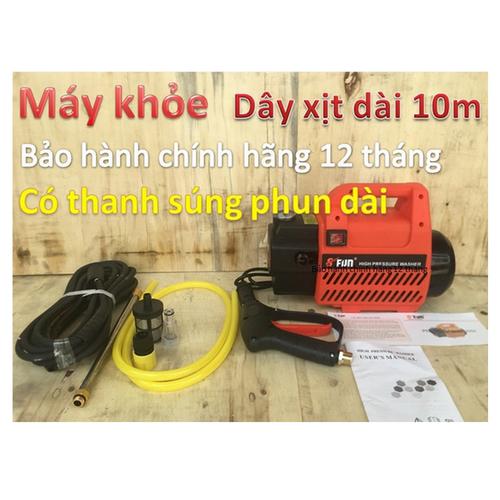 Máy rửa xe cao cấp Safun - 7988769 , 17662518 , 15_17662518 , 1689000 , May-rua-xe-cao-cap-Safun-15_17662518 , sendo.vn , Máy rửa xe cao cấp Safun