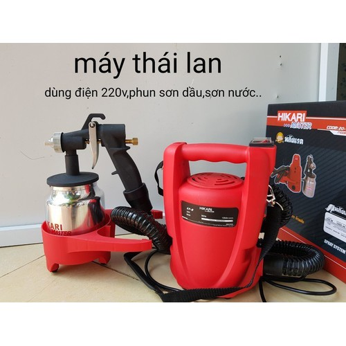 Máy phun sơn cầm tay Thái Lan Hikari - 7687866 , 17645181 , 15_17645181 , 999000 , May-phun-son-cam-tay-Thai-Lan-Hikari-15_17645181 , sendo.vn , Máy phun sơn cầm tay Thái Lan Hikari