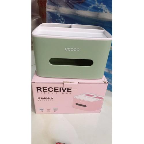 Hộp đựng giấy ăn đa năng để bàn ECOCo - 7982019 , 17653741 , 15_17653741 , 120000 , Hop-dung-giay-an-da-nang-de-ban-ECOCo-15_17653741 , sendo.vn , Hộp đựng giấy ăn đa năng để bàn ECOCo