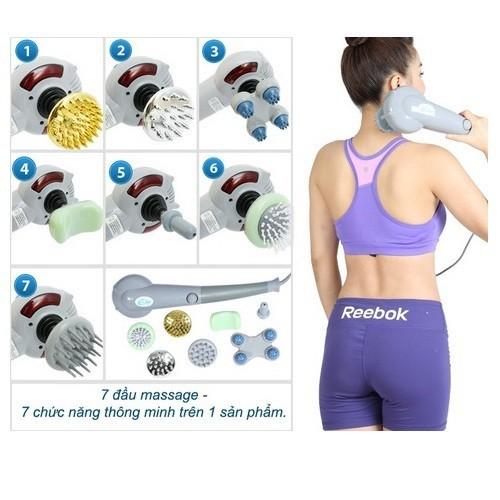 Combo máy + 7 món thay thế massage giảm đau nhức cơ thể