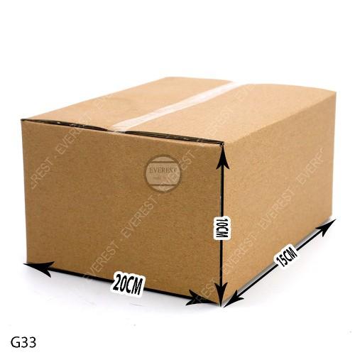 Combo 100 thùng carton G33-20x15x10 thùng giấy gói hàng - 7972323 , 17641626 , 15_17641626 , 325000 , Combo-100-thung-carton-G33-20x15x10-thung-giay-goi-hang-15_17641626 , sendo.vn , Combo 100 thùng carton G33-20x15x10 thùng giấy gói hàng