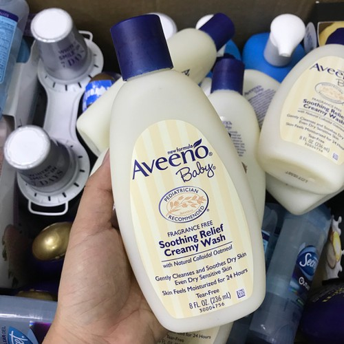SỮA TẮM AVEENO BABY SOOTHING RELIEF CREAMY WASH 236ML - 4710842 , 17643998 , 15_17643998 , 169000 , SUA-TAM-AVEENO-BABY-SOOTHING-RELIEF-CREAMY-WASH-236ML-15_17643998 , sendo.vn , SỮA TẮM AVEENO BABY SOOTHING RELIEF CREAMY WASH 236ML