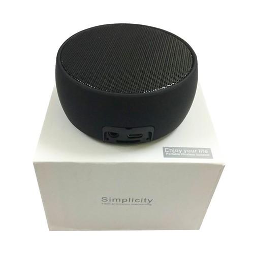 Loa Bluetooth Mini Simplicity BS-01 Âm Thanh Super Bass siêu trầm - Màu Ngẫu Nhiên