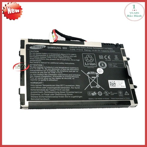 Pin dell Alienware M11x R2 A004EN 63 Wh