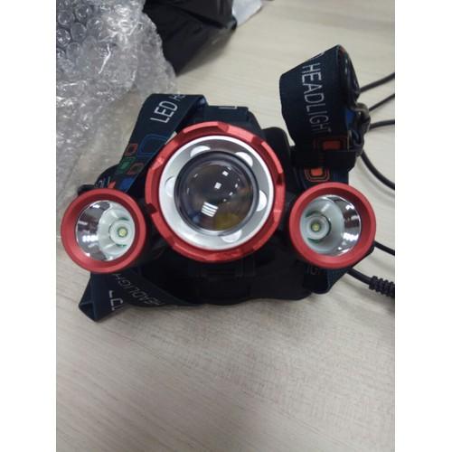 Đèn pin siêu sáng đội đầu 3 bóng T6 là sản phẩm được thiết kế tiện dụng, thông minh