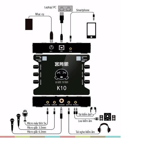 sound card k10