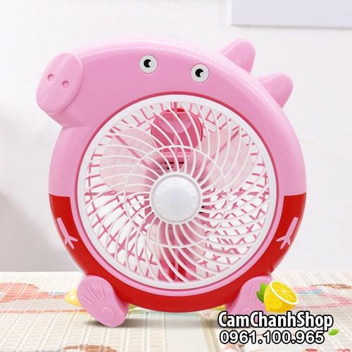 Quạt cắm điện hình lợn heo Peppa