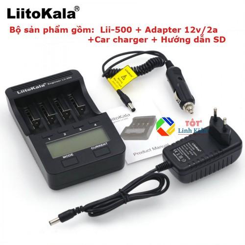 Bộ Sạc Pin Test Pin Đa Năng LiitoKala Lii-500 Chính Hãng - 7971380 , 17640758 , 15_17640758 , 450000 , Bo-Sac-Pin-Test-Pin-Da-Nang-LiitoKala-Lii-500-Chinh-Hang-15_17640758 , sendo.vn , Bộ Sạc Pin Test Pin Đa Năng LiitoKala Lii-500 Chính Hãng