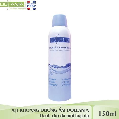 Xịt khoáng  DOLLANIA MINERAL WATERSPRAY 150ML