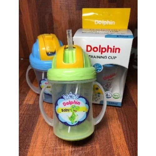 Bình tập uống nước Dolphin  280ml