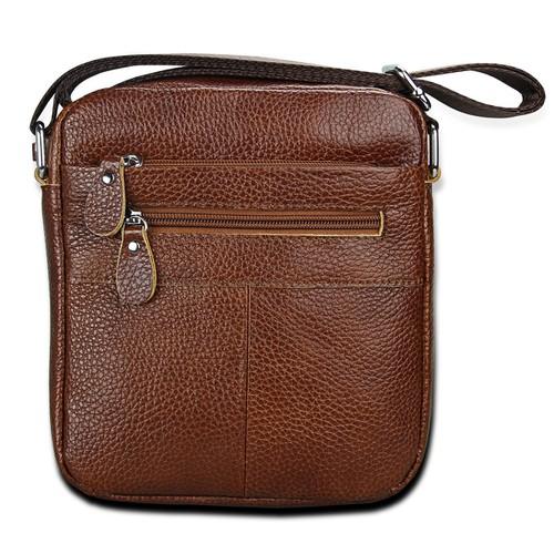 Túi đeo chéo nam- túi đeo da bò  cao cấp Thật Chất Store TC10