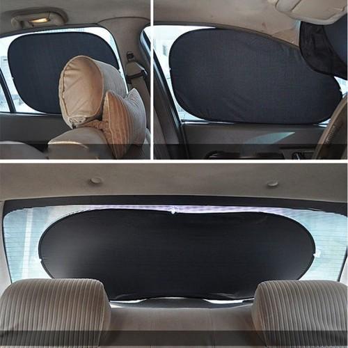 Bộ che nắng xe Ôtô 6 miếng giúp ngăn tia UV từ ánh sáng mặt trời chiếu vào xe khi đi trên đường