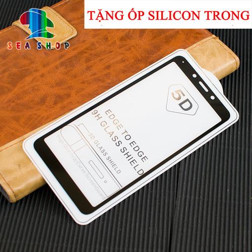 [TẶNG ỐP] Kính cường lực 5D Xiaomi Redmi 6 full màn hình - 4906550 , 17653424 , 15_17653424 , 59000 , TANG-OP-Kinh-cuong-luc-5D-Xiaomi-Redmi-6-full-man-hinh-15_17653424 , sendo.vn , [TẶNG ỐP] Kính cường lực 5D Xiaomi Redmi 6 full màn hình