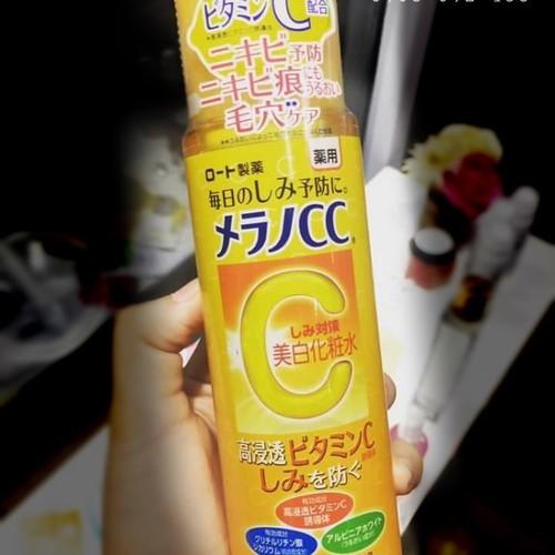 Nước Hoa Hồng Melano CC Lotion Vitamin C 170ml