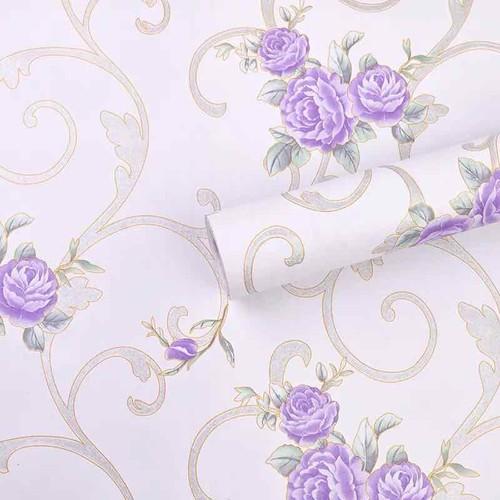 10 m giấy dán tường hoa tím keo sẵn khổ 45 cm - 7980000 , 17650830 , 15_17650830 , 100000 , 10-m-giay-dan-tuong-hoa-tim-keo-san-kho-45-cm-15_17650830 , sendo.vn , 10 m giấy dán tường hoa tím keo sẵn khổ 45 cm