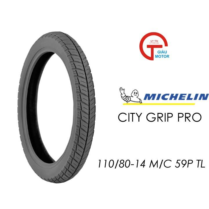 Lốp MICHELIN 110.80-14 CITY GRIP PRO MC TL 59P Vỏ xe máy MICHELIN size 110.80-14 CITY GRIP PRO MC TL 59P Việt Nam, giá rẻ, uy tín 1