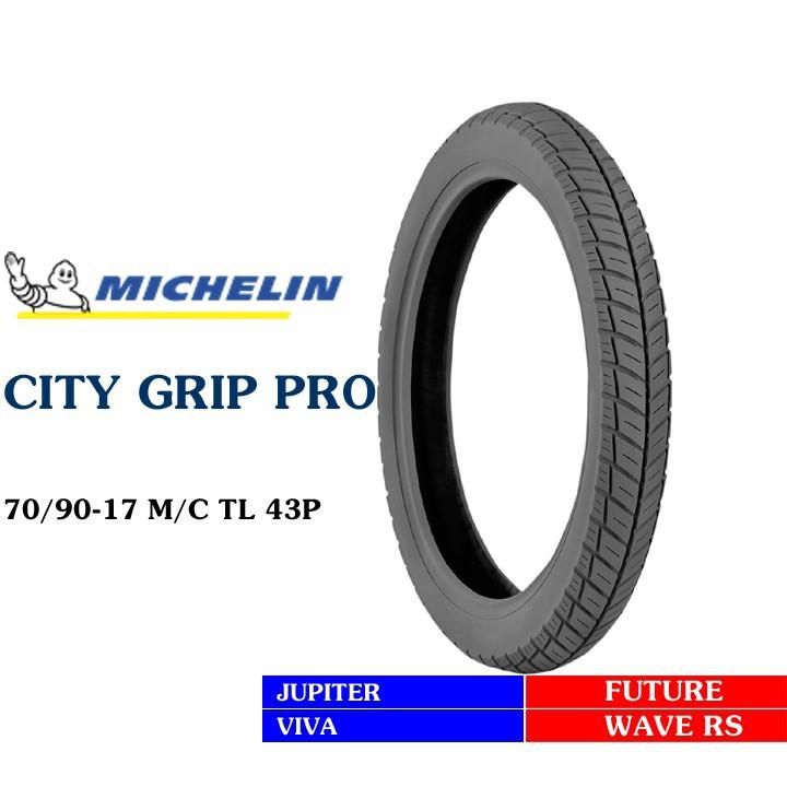 Lốp MICHELIN 70.90-17 CITY GRIP PRO MC TL 43P Vỏ xe máy MICHELIN size 70.90-17 CITY GRIP PRO MC TL 43P Việt Nam, giá rẻ, uy tín 2