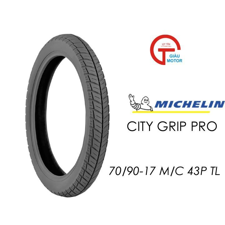 Lốp MICHELIN 70.90-17 CITY GRIP PRO MC TL 43P Vỏ xe máy MICHELIN size 70.90-17 CITY GRIP PRO MC TL 43P Việt Nam, giá rẻ, uy tín 1