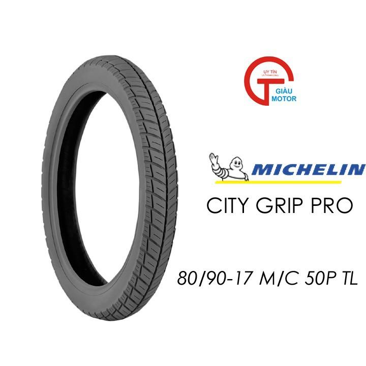 Lốp MICHELIN 80.90-17 CITY GRIP PRO MC TL 50P Vỏ xe máy MICHELIN size 80.90-17 CITY GRIP PRO MC TL 50P Việt Nam, giá rẻ, uy tín 1