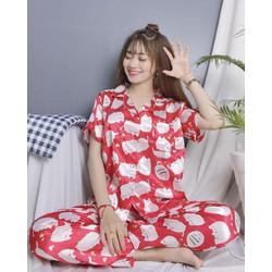Đồ bộ pijama phi bóng hoạt hình size dưới 50kg